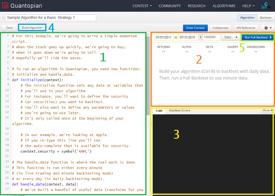 Python programming tutorials python editor this is where you code your python logic for the algoirthm baditri Gallery